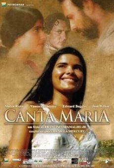 Ver película Canta Maria