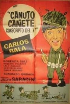 Canuto Cañete, conscripto del siete online