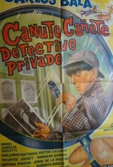 Canuto Cañete, detective privado online gratis