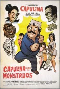 Ver película Capulina contra los monstruos