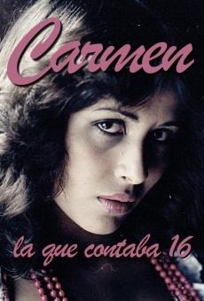 Ver película Carmen, la que contaba 16 años