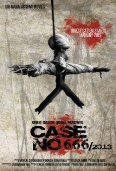 Watch Case No. 666/2013 online stream
