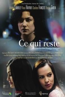 Ver película Ce qui reste
