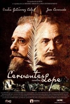 Ver película Cervantes contra Lope