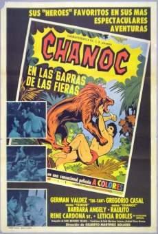 Ver película Chanoc en las garras de las fieras
