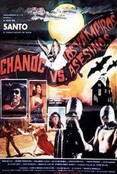 Ver película Chanoc y el Hijo del Santo contra los vampiros asesinos