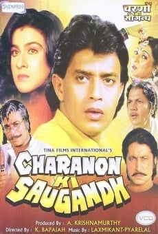 Ver película Charanon Ki Saugandh