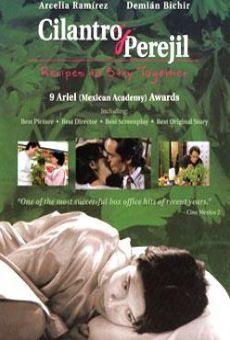 Ver película Cilantro y perejil