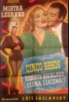 Ver película Cinco besos