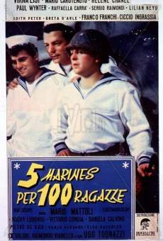 Ver película Cinco marinos contra cien chicas