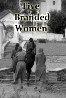 Ver película Cinco mujeres marcadas
