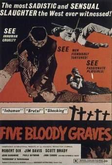 Ver película Cinco tumbas sangrientas