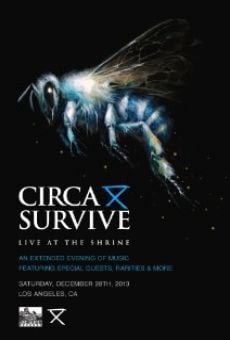 Watch Circa Survive: Live at the Shrine online stream