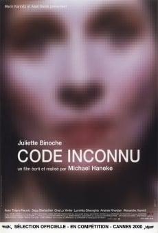 Ver película Código desconocido