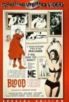 Color Me Blood Red online