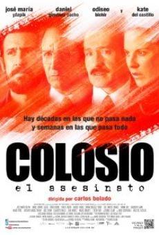 Colosio: El asesinato online