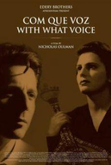Ver película Com Que Voz