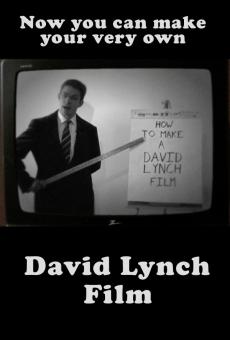 How to Make a David Lynch Film