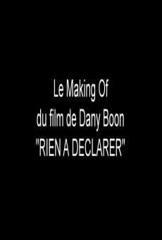 Watch Cómo se rodó la película de Dany Boon: Nada que declarar online stream