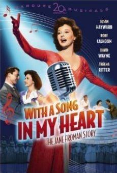 Ver película Con una canción en mi corazón