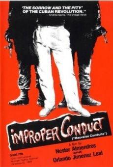 Ver película Conducta impropia