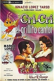 Ver película Cri Cri el grillito cantor
