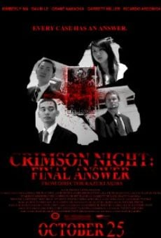 Crimson Night: Final Answer online