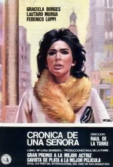 Ver película Crónica de una señora