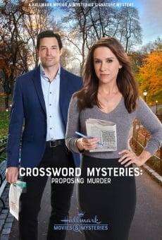 Crossword Mysteries: Proposing Murder en ligne gratuit