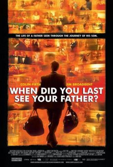 And When Did You Last See Your Father? (aka When Did You Last See Your Father?) online kostenlos