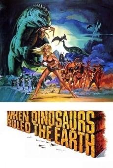 Cuando los dinosaurios dominaban la tierra