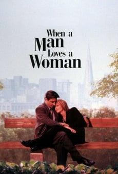 Cuando un hombre ama a una mujer online