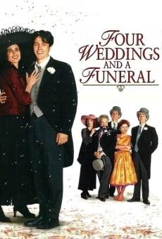 Ver película Cuatro bodas y un funeral