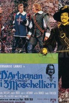 Ver película D'Artagnan contra los tres mosqueteros
