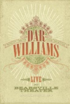 Película: Dar Williams: Live at Bearsville Theater