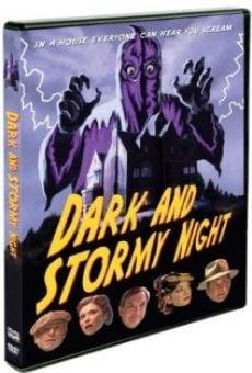 Ver película Dark and Stormy Night