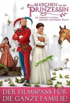 Ver película El libro de la princesa, que se ha convertido en un libro de cuentos