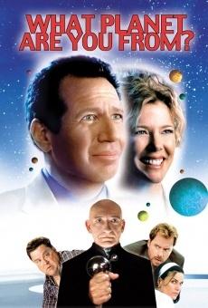 Ver película ¿De qué planeta vienes?