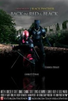 DeadPool Black Panther Back in Red & Black online free