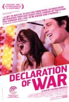 Ver película Declaración de guerra