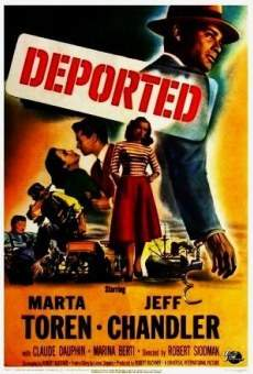 deported 1950 film en fran ais cast et bande annonce. Black Bedroom Furniture Sets. Home Design Ideas