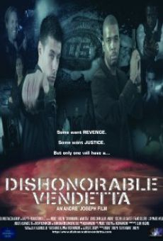 Película: Dishonorable Vendetta