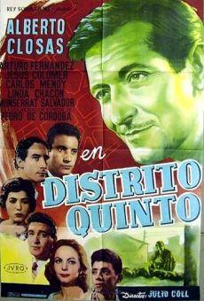 Ver película Distrito quinto