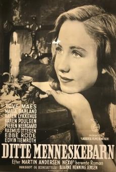 ditte menneskebarn 1946 film en fran ais cast et bande annonce. Black Bedroom Furniture Sets. Home Design Ideas
