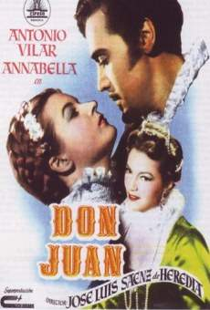 don juan 1950 film en fran ais cast et bande annonce. Black Bedroom Furniture Sets. Home Design Ideas