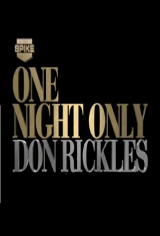 Don Rickles: One Night Only on-line gratuito