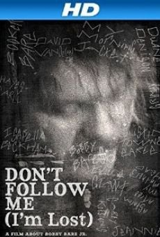 Película: Don't Follow Me: I'm Lost