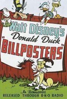 Walt Disney's Donald Duck: Billposters en ligne gratuit