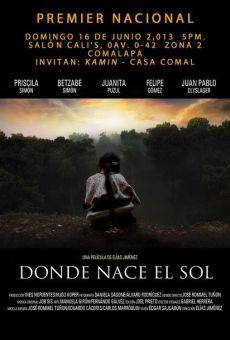 Película: Donde nace el sol