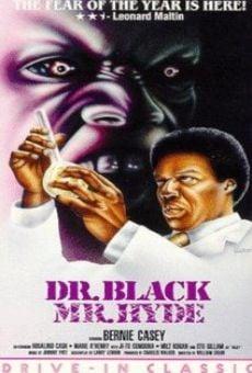 Ver película Doctor Black, monstruo asesino